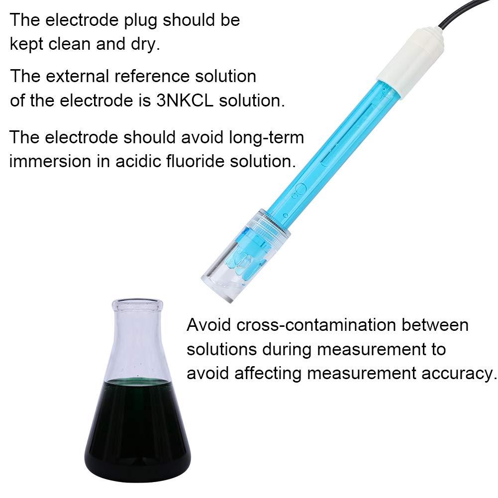 PH Probe Composite Electrode Test Code sensor for Aquaponics Garsent Digital PH Meter PH Sensor Module Fish Tanks.