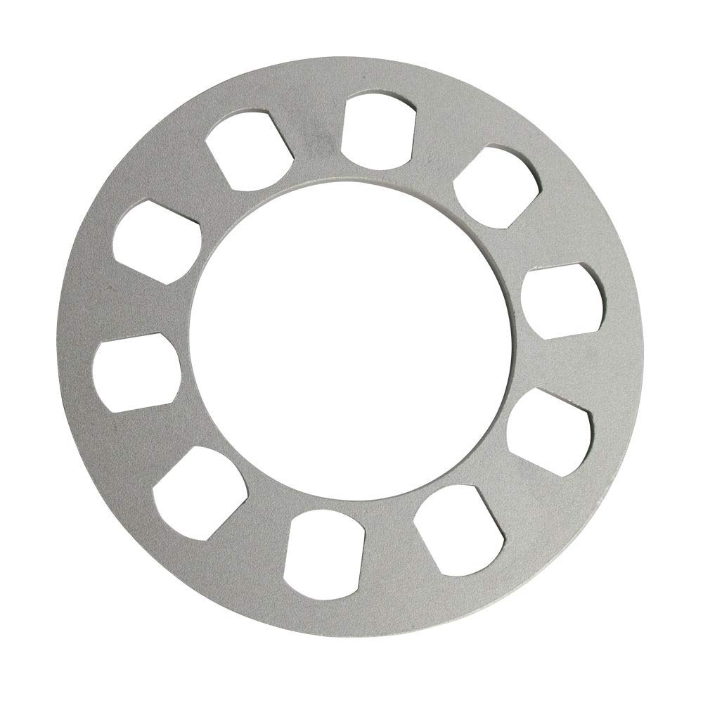 4PC DCVAMOUS 6mm or 1//4 Universal Wheel Spacers 5 Lug for All 5X108 5X110 5X112 5X114.3 5X115 5X120 5X130 5X135 5X4.5 5X4.25 5X5 5X4.75