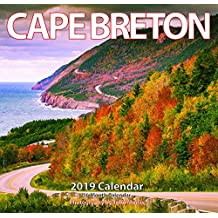 "2019 Cape Breton Monthly Wall Calendar 12""x11.5"""