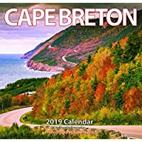 "2019 Cape Breton Monthly Wall Calendar 12""x11.5"""