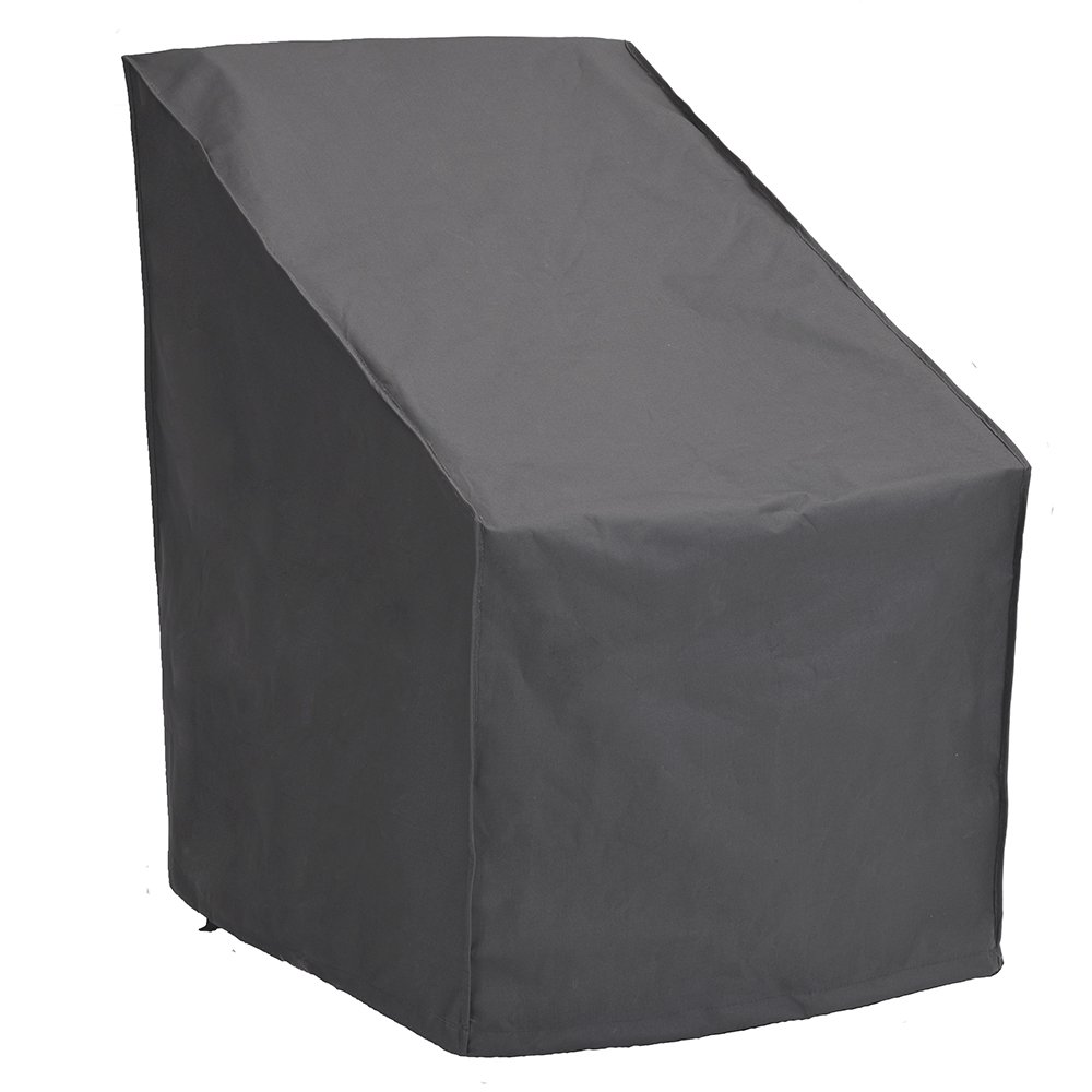 Patio Watcher High Back Patio Chair Cover, Durable and Waterproof Out Furntirue Chair Cover,Grey