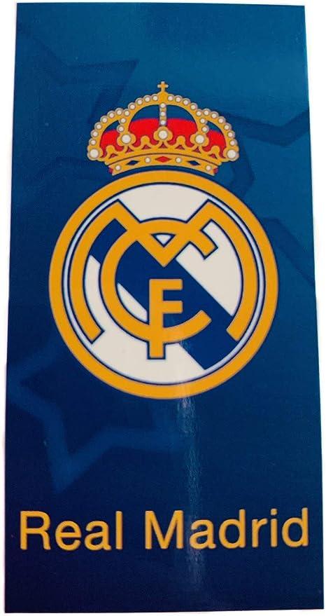 Real Madrid RM171103. Toalla de baño y Playa de Algodón 100% de 70x140 cm. Licencia Oficial.: Amazon.es: Hogar