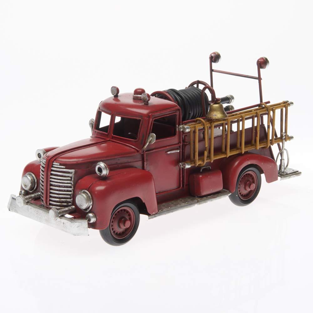 Style r/étro Vintage Antique Pamer-Toys Voiture mod/èle en t/ôle Ambulance, Jaune Longueur Approx 25-35 cm
