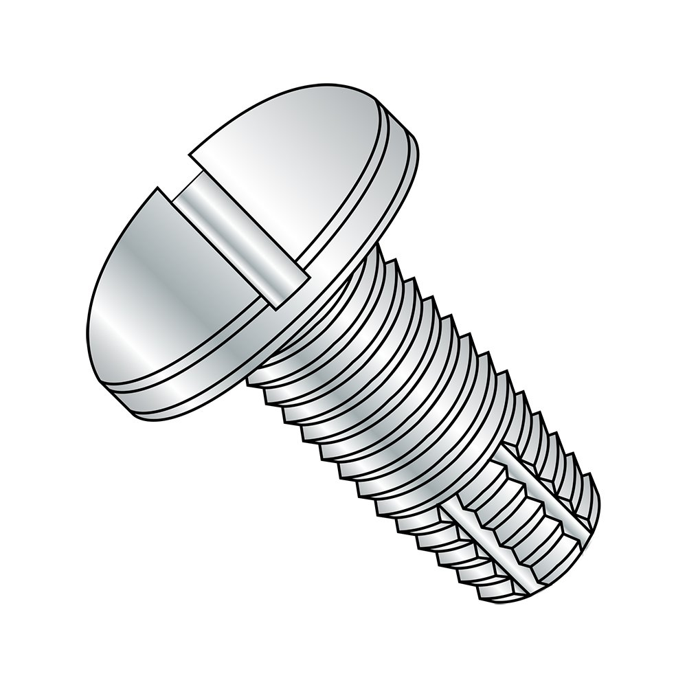 Pack of 100 Pan Head 5//16 Length #4-40 Thread Size Zinc Plated Finish Pack of 100 Steel Thread Cutting Screw 5//16 Length Type F Slotted Drive Small Parts 0405FSP