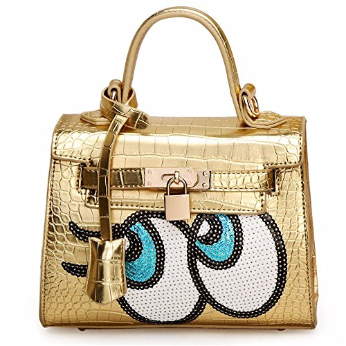 Seul Sac Eye Fashion Golden Lady Gaoqiangfeng white L'épaule À RAZvqv