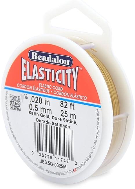 Elasticity Beadalon Stretch Beading Elastic Cord Thread 100 m