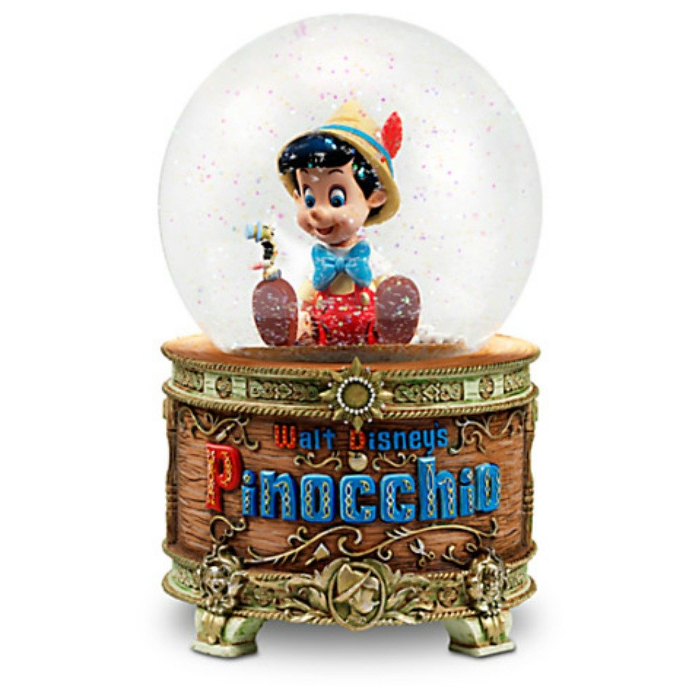 Disney Pinocchio and Jiminy Cricket Snowglobe by Disney
