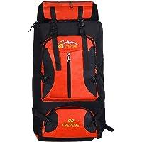 ALUA- Waterproof Hiking Backpack, Oxford Rucksack Outdoor Sport Travel Trekking Running Womens Mens 70L
