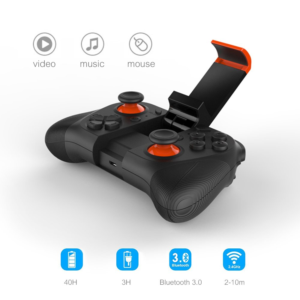 samsung tv game controller. Amazon.com: Vatos Wireless Bluetooth Game Controller Gamepad Joypad Joystick For Android Phone,Pad,MID,TV BOX,PC And Smart TV Games With Clip: Computers \u0026 Samsung Tv