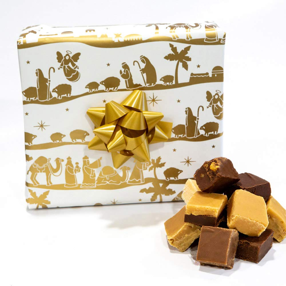 Unto Us A Child is Born - Assorted Fudge Gift Box - Hall's Candies by Hall's Candies