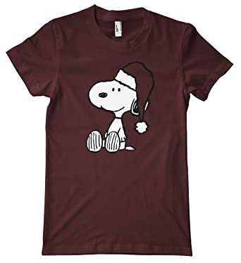 snoopy christmas premium t shirt aqua small - Snoopy Christmas Shirt