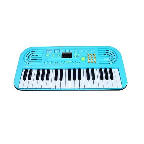 Piano para niños, Sanmersen 37 teclas Gran teclado multifunción de órgano electrónico musical Kids Play