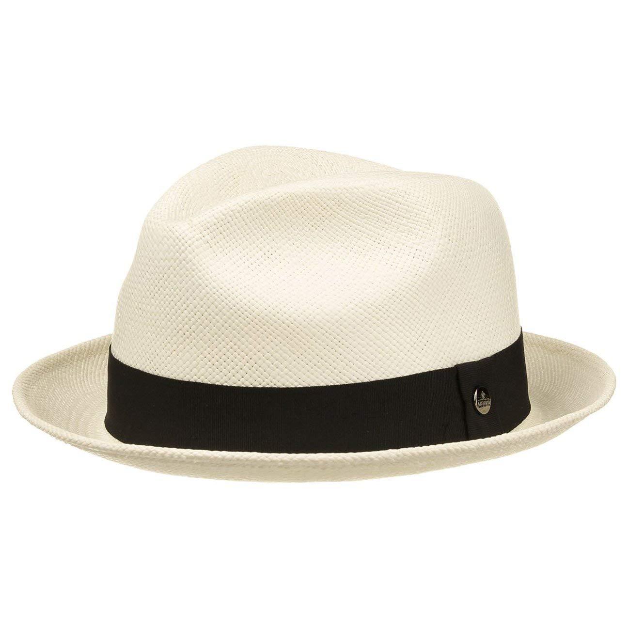 Lierys Cappello Panama Eduardo Player cappelli paglia M (56-57 cm) -  natura  Amazon.it  Abbigliamento bd0a4646fa01