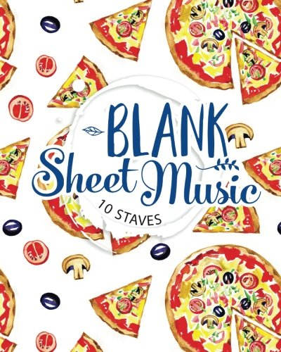 Blank Sheet Music - 10 Staves: Music Staff Paper / Sheet Music Book / Music Sheet Notes/ Musicians Notebook (Volume 20)