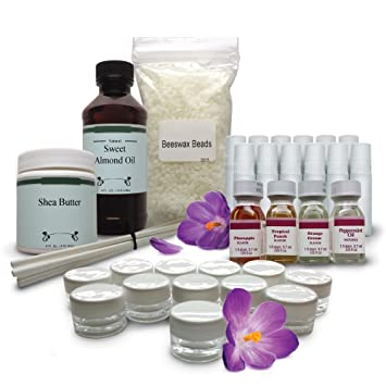 Diy Lip Balm Kit Everything You Need To Make 24 All Natural Lush Lip Balms For Healthy