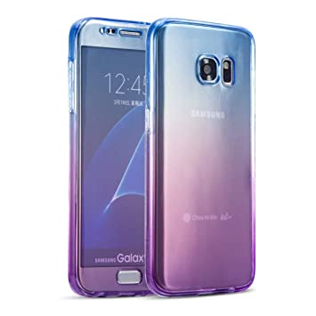brand new 06642 34a75 TPU Case for Samsung A520 Galaxy A5 2017, SevenPanda Front and Rear All  round protection TPU Silicone Case for Samsung Galaxy A5 2017 Ultra Slim  Fit ...
