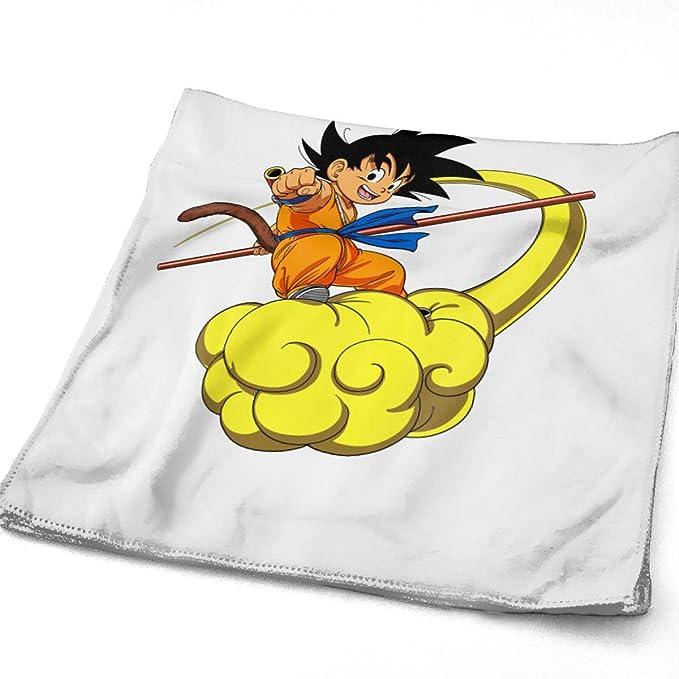 Pobilay Dragon Ball Z Goku - Toalla de Mano para baño, SPA, Gimnasio, Deportes: Amazon.es: Hogar