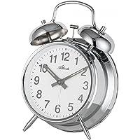 Atlanta Despertador mecánico Analog Plata 1054–19