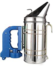 FireAngels - Ahumador eléctrico de Acero Inoxidable para Abejas, pulverizador de Humo aerosolizante antivarroa,