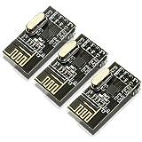 HiLetgo NRF24L01+ 無線モジュール 2.4G 無線トランシーバー モジュール マイクロコントローラArduinoに対応(3個セット) [並行輸入品]
