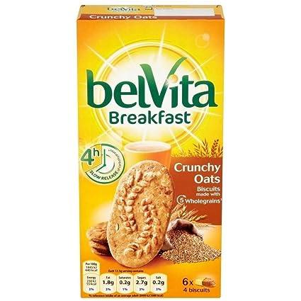 Belvita Galletas De Desayuno - Avena Crujiente (6X50g)