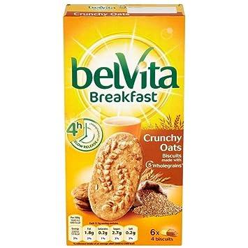 Belvita Galletas De Desayuno - Avena Crujiente (6X50g): Amazon.es: Hogar