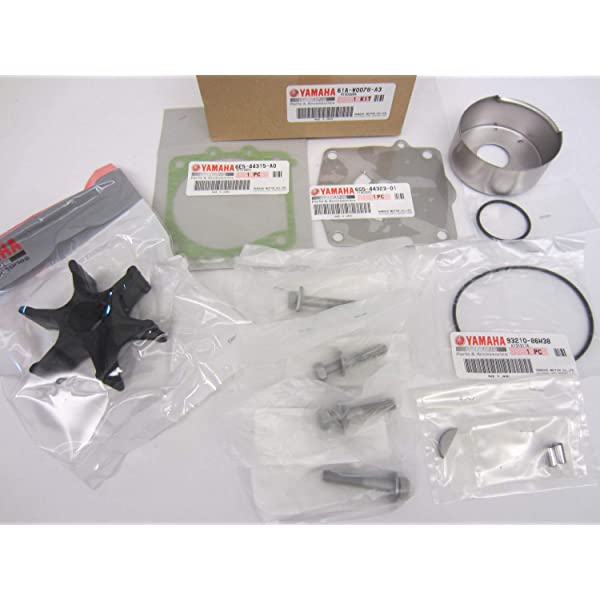 SEI Marine Products-Compatible with Yamaha Shim Kit 6E5-45587-01-00 115 130 150 175 200 225 HP Right//Left Rotation