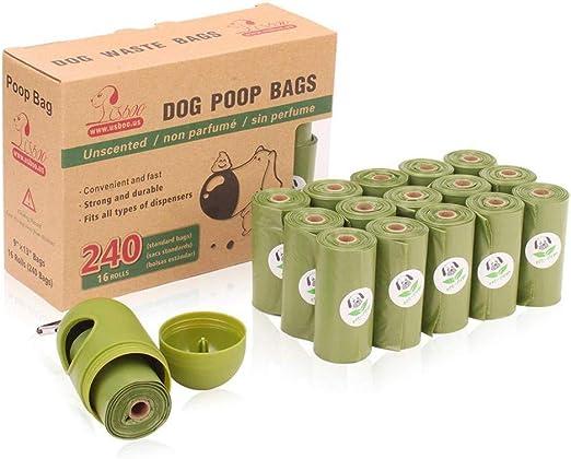 Hualieli Pet Poop - Bolsa Biodegradable para desechar residuos ...