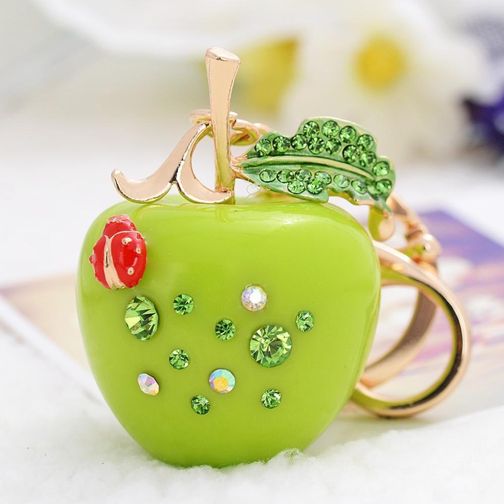 kaige Key chain Diamond small Apple keychain fashion girl by kaige (Image #1)