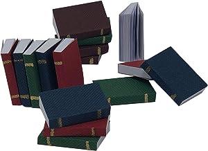 BULK PARADISE Authentic Miniatures Dollhouse Books - 16 Piece Pack, 1:12 Scale