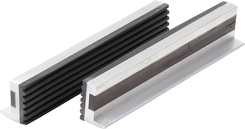 BGS 3045 Mors de protection pour é tau, Argent/noir, 150mm, Set de 2 Piè ces Set de 2 Pièces BGS technic