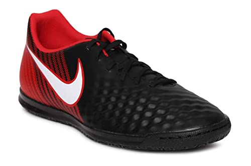 30c38406af5d Nike Men s Magistax Ola II IC Black Football Shoes (UK-10 (US-11))  Buy  Online at Low Prices in India - Amazon.in