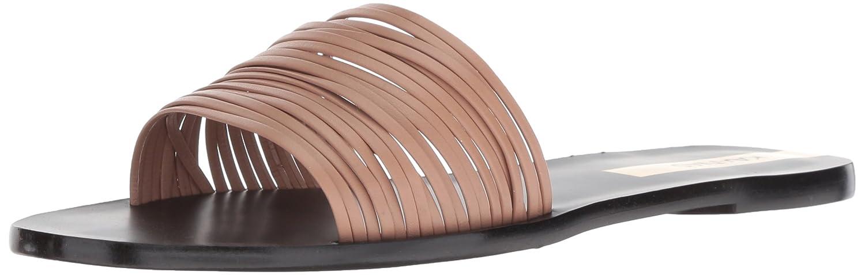 KAANAS Women's Guanabara Multi Strap Slide Leather Flat Sandal B079MW6Q95 10 B(M) US|Nude
