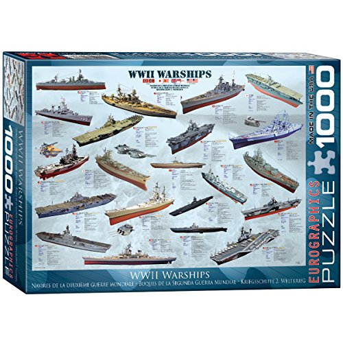 EuroGraphics WWII War Ships 1000 Piece Puzzle (Wwii Ship)