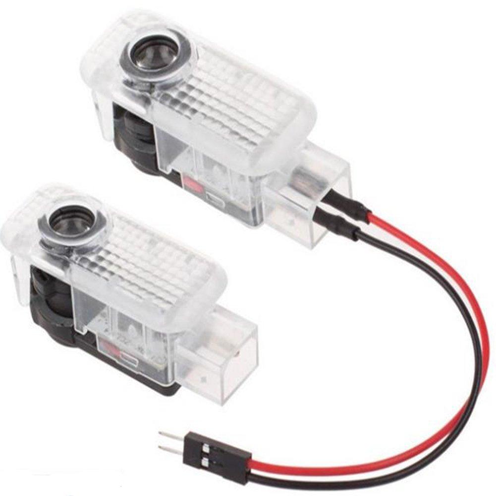 4 pezzi luci per portiere auto LED 3D auto luce ombra fantasma 4 pezzi logo luce di proiezione per porta auto 4 pezzi