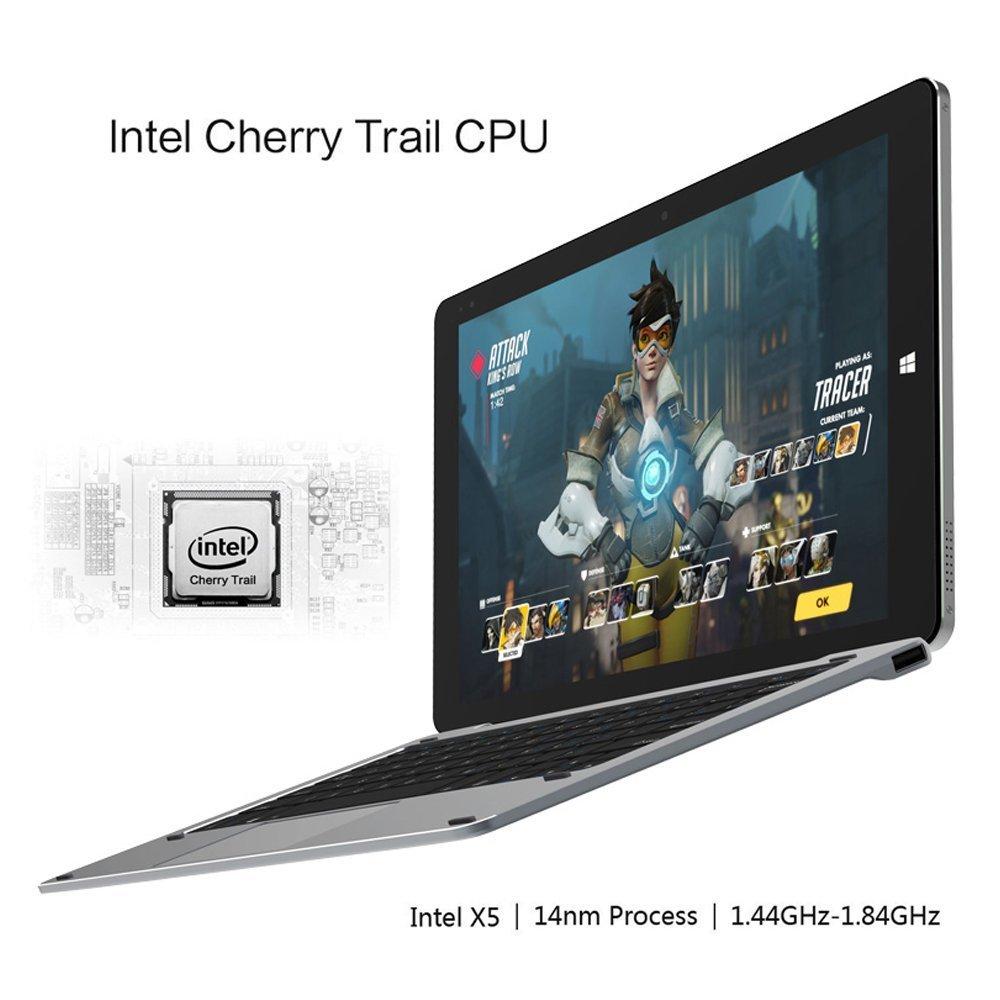 ChuwiUSA New Hi10 PRO 10.1'' FHD IPS Windows 10/Android 5.1 Dual Boot 2-in-1 Tablet PC Intel X5 Quad Core 4GB 64GB Bundle Detachable keyboard Docking by CHUWI (Image #4)