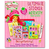 Strawberry Shortcake Giant Coloring Book with Stickers (144 Pages)