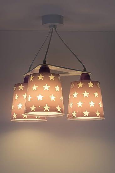 LED Kinderlampe Raumschiffe /& Weltraum Stern Sterne Stars 81212HFarbwechsel RGB-CCT 850 Lm Google alexa Jungen /& M/ädchen Kinderzimmerlampe Deckenlampe