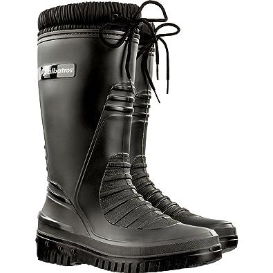 ARKTIS Gefütterter Stiefel mit warmen Webpelzfutter - grau - Größe 37