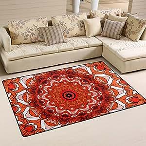 Coosun creative commons mandala rea alfombra alfombra - Alfombras dormitorio amazon ...