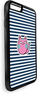 ايفون 7 بلس  بتصميم رسوم كرتونية - قطة