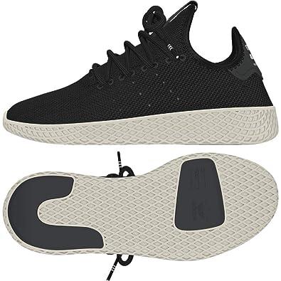 adidas Unisex-Kinder Pw Tennis Hu J Fitnessschuhe, schwarz