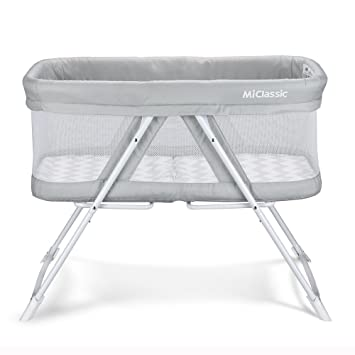 Amazon Com 2in1 Rocking Bassinet One Second Fold Travel Crib