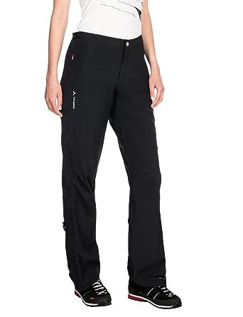 a1421b0912e Vaude Damen Yaras Rain Zip Pants II Hose: Amazon.de: Bekleidung