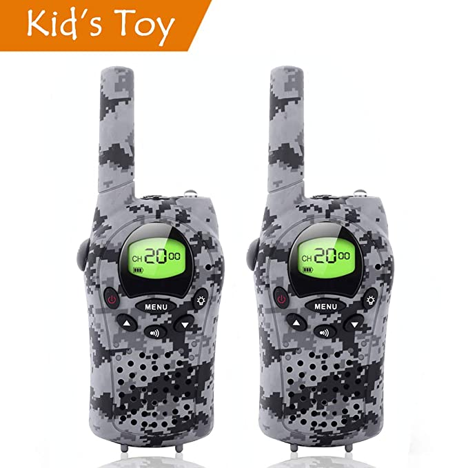 Amazon Com Camo Walkie Talkies For Kids Hunting Toys For 3 12 Year