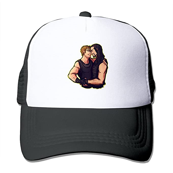 Unisex Cap Black BROTHERS Dean Ambrose Roman Reigns WWE