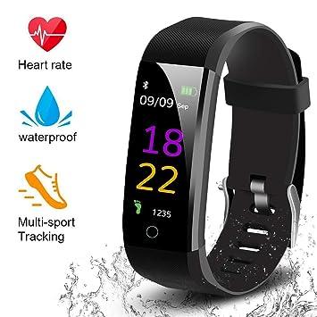 Amazon.com: Houosdf Fitness Tracker HR, reloj de seguimiento ...
