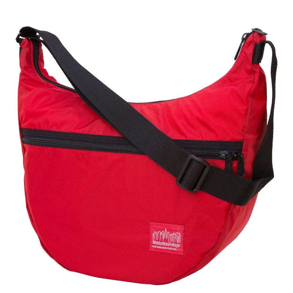 Manhattan Portage Cordura Lite Top Zipper Nolita Bag, Red, One Size