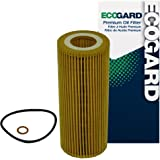 ECOGARD X5909 Cartridge Engine Oil Filter for Conventional Oil - Premium Replacement Fits BMW X5, 335d