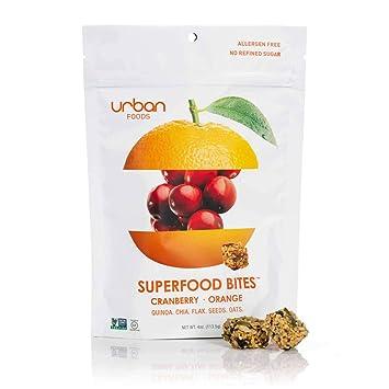 Urban Foods Super Food Bites - Snacks saludables con quinoa ...